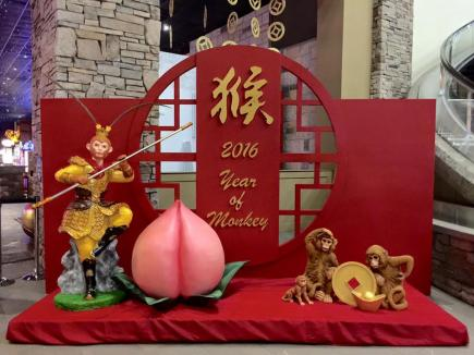 2016 CNY Decor at The RiverRock Casino Resort