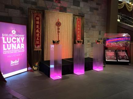 2015 CNY Decor at The RiverRock Casino Resort